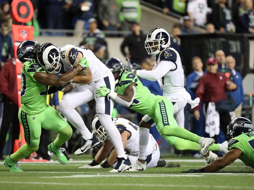 Los Angeles Rams vSeattle Seahawks