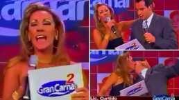 Consuelo Duval revive el beso que le robó a un desconocido mientras interpretaba a 'Damela Micha'