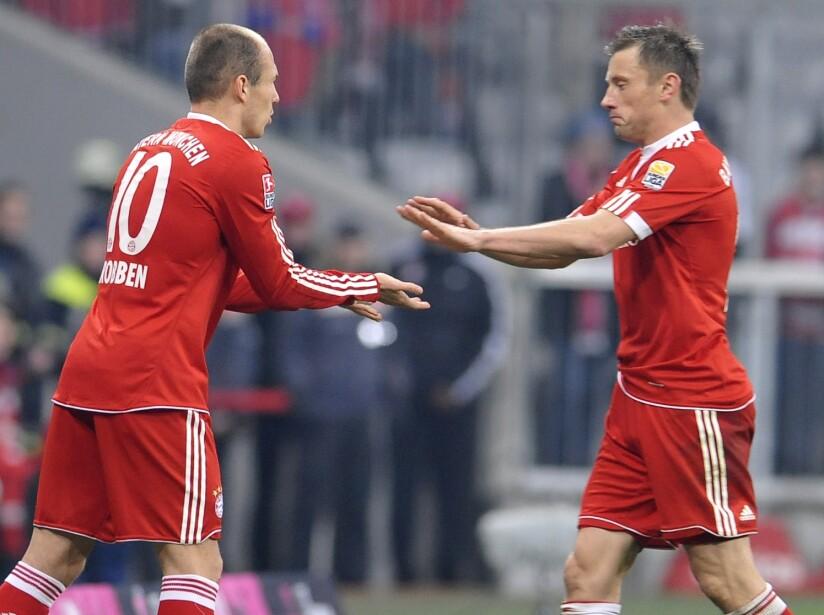Ivica Olic, Arjen Robben
