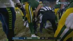 ¡Con puro esfuerzo! Aaron Jones incrementa la ventaja de Packers