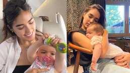 Sharon Fonseca y su hija Blu se visten igualitas, parecen gemelas