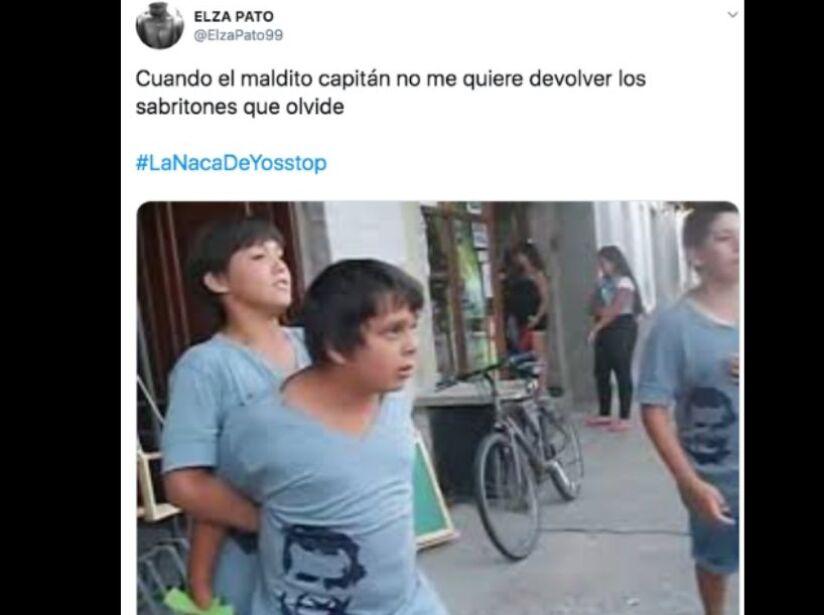 Los memes de #LadyYate y #LaNacaDeYosStop