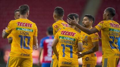 Con goles de Gignac al minuto 43 y 53, los Tigres consiguen su primera victoria en la Copa GNP por México.