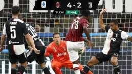 ¡Qué remontada! Milan vence a Juventus con 3 goles en 5 minutos