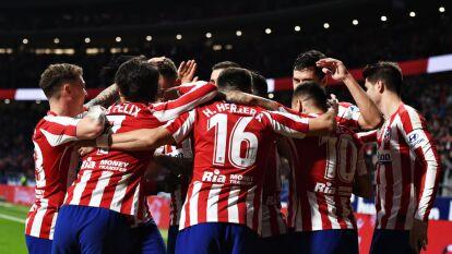 Con goles de Álvaro Morata y Saúl Ñíguez, el Atlético gana y se lleva los tres puntos. El mexicano Héctor Herrera entró al terreno de juego al minuto 67 cuando el encuentro se encontraba 0-0.
