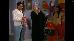 Betza salva a Delfino y a Don Carmelo de quedarse encerrados