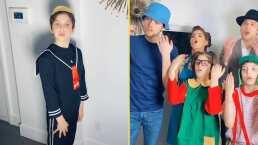 """Ana Bárbara y sus hijos entran en la piel de los personajes de """"El Chavo del 8"""": """"Bueno, pero no te enojes"""""""
