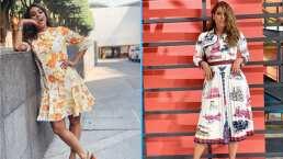 Los looks de Galilea Montijo demuestran que no hay primavera sin estampados de flores