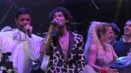 """Pablo Montero le cantó """"Las Mañanitas"""" a Emilio Osorio y se echaron juntos un """"palomazo"""""""