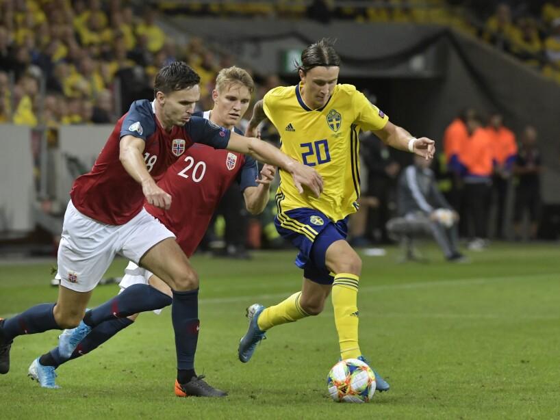 Sweden Norway Euro 2020 Soccer