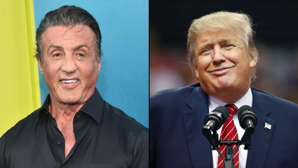 Buscan cancelar a Sylvester Stallone por ser miembro del ...