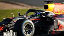'Checo' Pérez se apodera del circuito Silverstone con RedBull