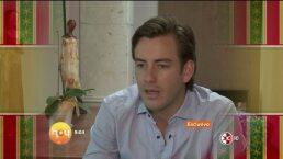 Juan Diego Covarrubias listo para grabar telenovela HOY