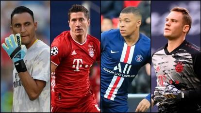 ¡Listos los nominados a mejores jugadores por posición de la UEFA Champions League!