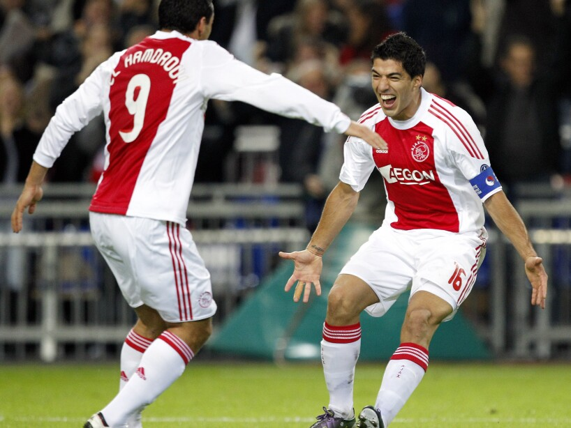 Mounir El Hamdaoui, Luis Suarez