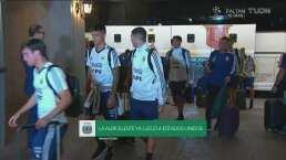 Argentina llegó a San Antonio para enfrentar a México