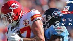 Kansas City Chiefs 32- 35 Tennessee Titans – Resumen – Week 10 – NFL