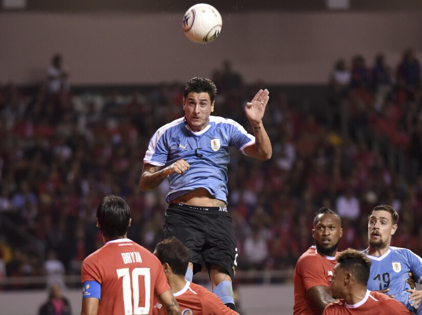 Costa Rica Uruguay Soccer