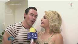 DETRÁS DE CÁMARAS: Pedro Infante le canta a Itatí Cantoral