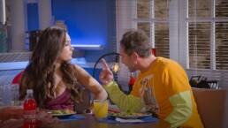 """""""Nuestra relación se basa en la comida"""": Pedro y Cris se ponen a dieta y apuestan para ver quién NO la abandona"""