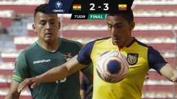 Liga BBVA MX presente en triunfo de Ecuador sobre Bolivia