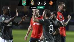 Con cuadro titular, Manchester United golea en Copa de la Liga