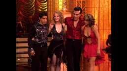 Ana Layevska y Adrián Uribe se enfrentan para demostrar quién es quién en la pista de baile