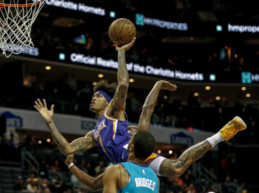 Suns Hornets Basketball