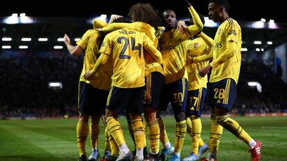 El Arsenal deja en el camino al Portsmouth 0-2 con goles de Papastathopoulos y Nketiah y avanza en la 5ta ronda de la FA Cup.