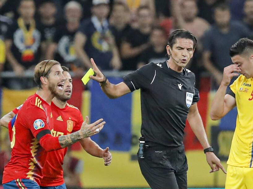 Romania Spain Euro 2020 Soccer