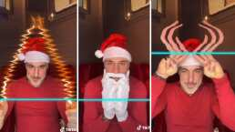 Gianluca Vacchi hizo magia en TikTok con estas extraordinarias figuras navideñas