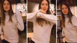 Sharon Fonseca se olvida de la cesárea y baila como mejor pudo 'Suavemente'