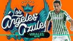 """""""Con los Ángeles Azules se entrena mejor"""": Andrés Guardado"""