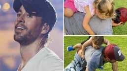 Enrique Iglesias comparte tierno video al lado de sus hijos