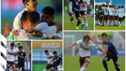 México vence a Japón 2-0, con goles de Pizzuto y Muñoz; jugará contra Corea del Sur en cuartos de final.
