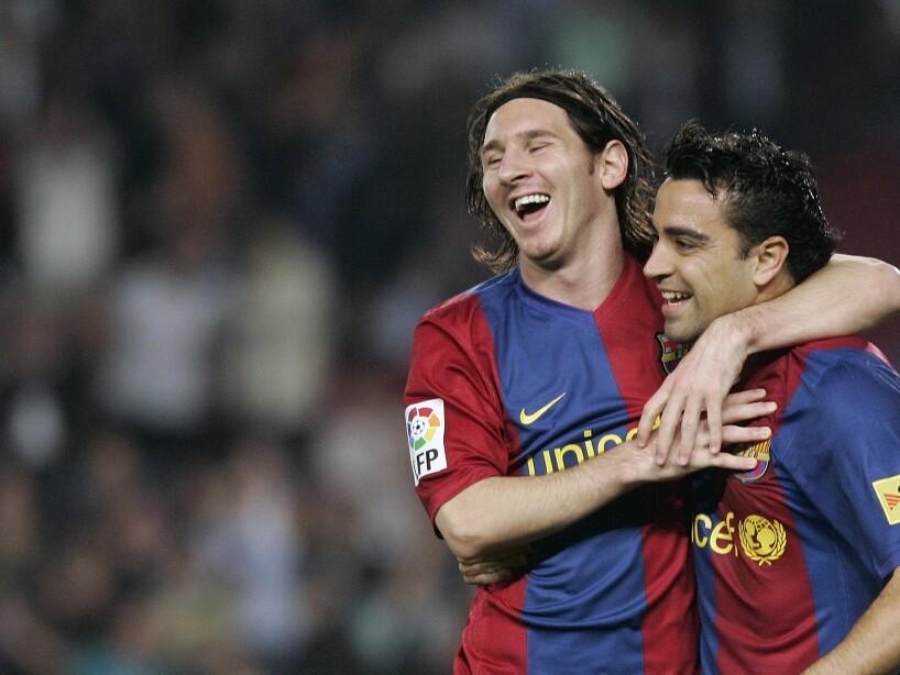 Xavier Hernandez, Lionel Messi