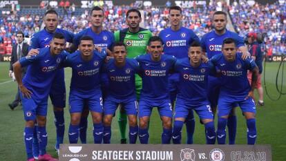 Con este equipo debuta Cruz Azul en la Leagues Cup