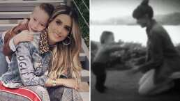 Como pocas veces, Galilea Montijo revive video inédito de su hijo cuando aprendía a dar sus primeros pasitos