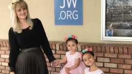 Hijas de Allisson Lozz la sorprenden con fiesta de aniversario: desde los globos hasta los regalos
