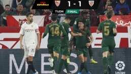 Sevilla no puede en casa con un férrero Bilbao