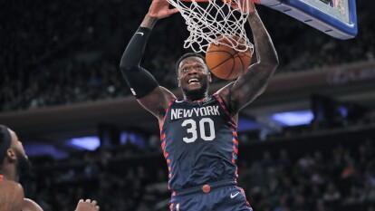New York Knicks 124-121 Miami Heat