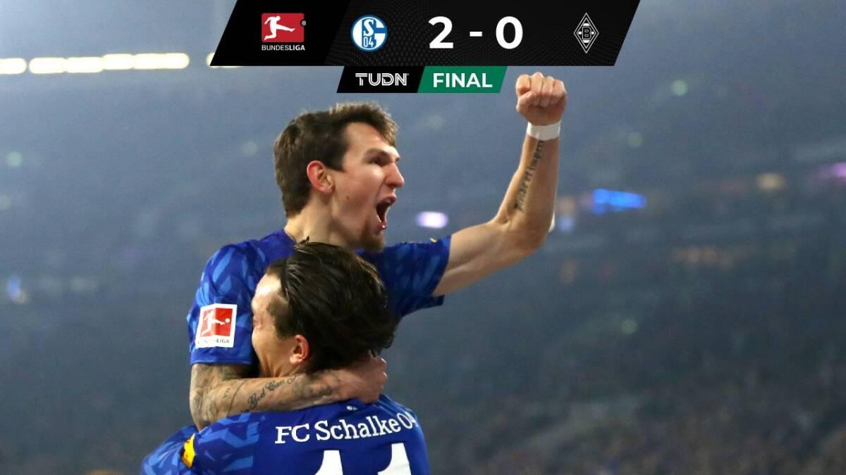 El Schalke 04 venció 2-0 al Monchengladbach en la Bundesliga | Bundesliga | TUDN