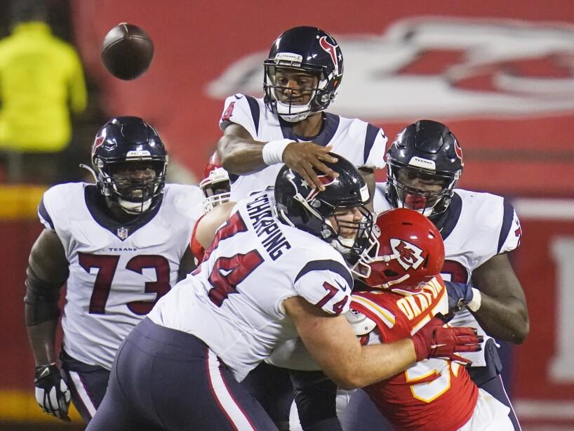 APTOPIX Texans Chiefs Football