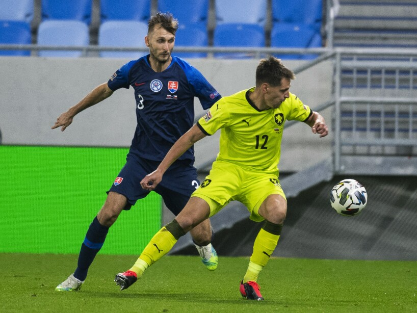 Slovakia Czech Nations League Soccer