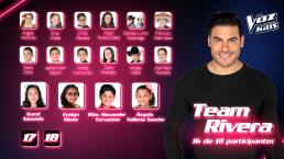 ¡El Team Rivera está por completarse! Conoce a sus nuevos integrantes
