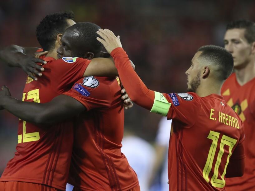 Belgium San Marino Euro 2020 Soccer
