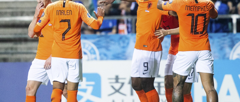 Estonia Netherlands Euro 2020 Soccer