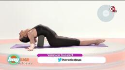 Yoga: Abre tu corazón con la ayuda de un bloque