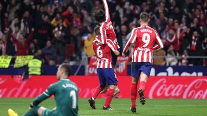Atletico de Madrid le da la vuelta al marcador y termina 3-1 contra el Villarreal.