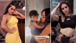 Samadhi Zendejas conoció al hijo de Kimberly Loaiza y él fue todo un coqueto con la actriz
